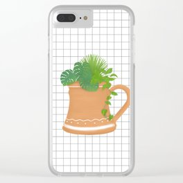 Cup of Life Clear iPhone Case