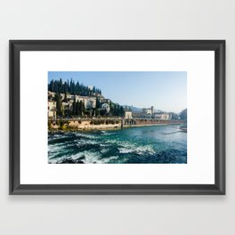Italy - Verona 1 Framed Art Print