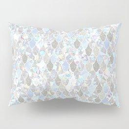 Holographic Mermaid Pillow Sham