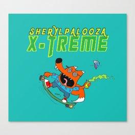 Sherylpalooza X-Treme Canvas Print