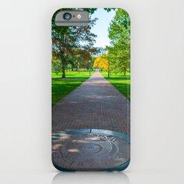 Ohio Campus Seal Oval iPhone Case