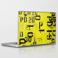 code Laptop & iPad Skins featuring Code by ayarti