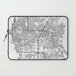 Minimal City Maps - Map Of Las Vegas, Nevada, United States Laptop Sleeve