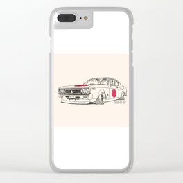 Crazy Car Art 0162 Clear iPhone Case