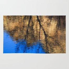 Golden Reflection Rug