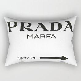 PradaMarfa sign Rectangular Pillow