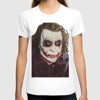 the joker T-shirts featuring joker by DeMoose_Art