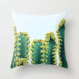 Adorned Cactus #society6 #artprints #buyart Throw Pillow
