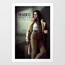 Pocahontas - Private Eye Art Print