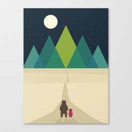 Long Journey Canvas Print