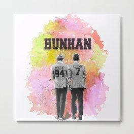 HunHan Metal Print