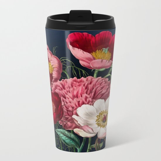 Flower garden III Metal Travel Mug