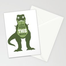 Amourosaurus Stationery Cards