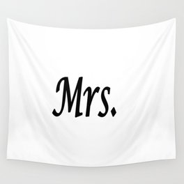 Mrs. Wall Tapestry