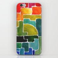 maze runner iPhone & iPod Skins featuring Maze Runner by Lara Nicholls