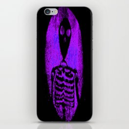 Skeleton's portal Purple iPhone Skin