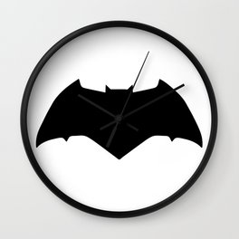 Bat Knight 3 Wall Clock