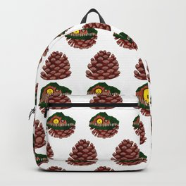 Home Sweet Pinecone Backpack