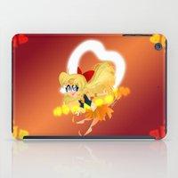 sailor venus iPad Cases featuring Sailor Venus by Eileen Marie Art