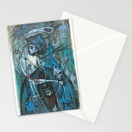 exiled archangels Stationery Cards