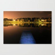 Millhall Reservoir, Falkirk Canvas Print
