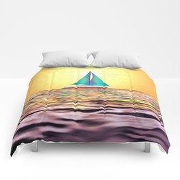Sailing Away Comforters