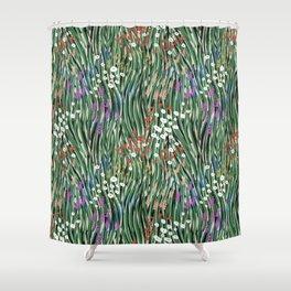 Windy Day In Garden Shower Curtain