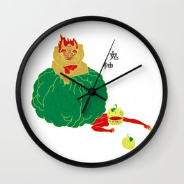 Citrus Ogre Wall Clock