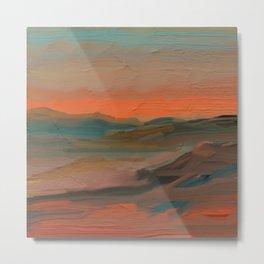 Southwestern Sunset Metal Print