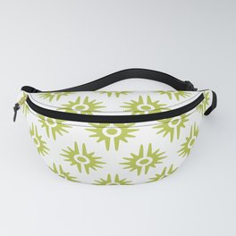 Mid Century Modern Bang Pattern 272 Chartreuse Fanny Pack
