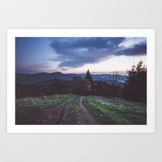 Go where you feel the most alive Art Print