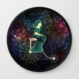 Backward Universe Wall Clock