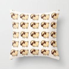 Dog pattern 2232 Throw Pillow