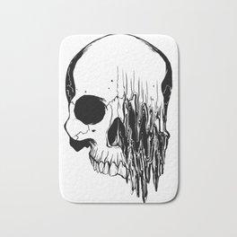 Skull #5 (Distortion) Bath Mat