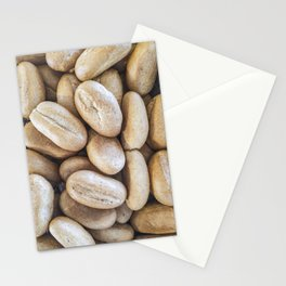 Coarse bread Stationery Cards
