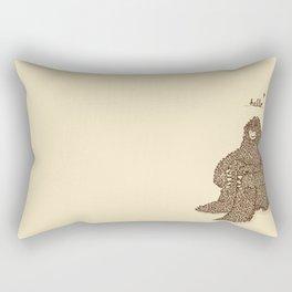 Hello they said one Rectangular Pillow