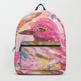 Pink Bird Backpack