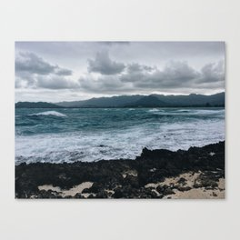 Windward Sea Canvas Print