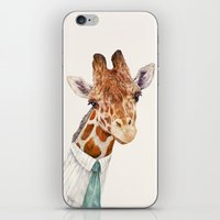 toddler iPhone & iPod Skins featuring Mr Giraffe by Animal Crew