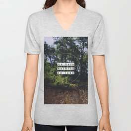 Bus view Unisex V-Neck