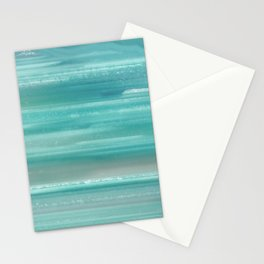Turquoise Geode Stationery Cards