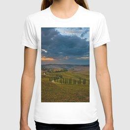 Sunset at Toscany T-shirt