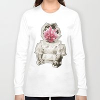 geode Long Sleeve T-shirts featuring Geode Face 3 by hunnydoll