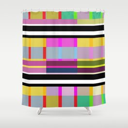 Stripe 7 Shower Curtain