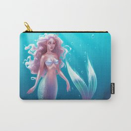 siver mermaid Carry-All Pouch