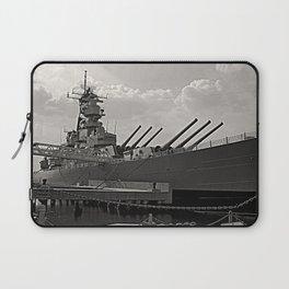 USS Wisconsin (BB-64) Laptop Sleeve