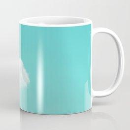 Nube cian Coffee Mug