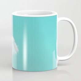 Nube cian Coffee Mug