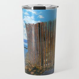 A Day At The Beach Travel Mug
