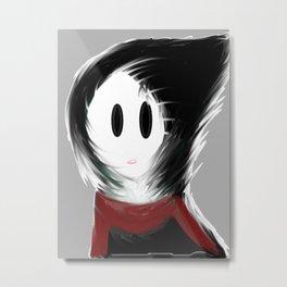 Gloomy Girl Metal Print